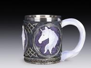 Unicorn mug.