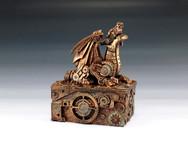 Copper Steampunk Dragon Box