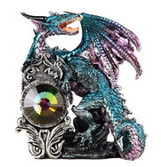Blue Dragon with Stone