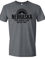 Nebraska Good Life (Gray)