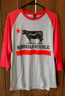Nebraska Republic baseball shirt