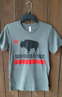 South Dakota Republic (black/red) (men/unisex)