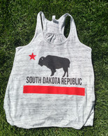 South Dakota Republic Women's tank (black/red)