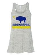 South Dakota Republic Women's tank (blue/yellow)