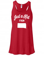 Kid From SD womens tank (red)