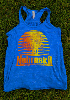 Amazingly soft Bella Canvas racerback tank.