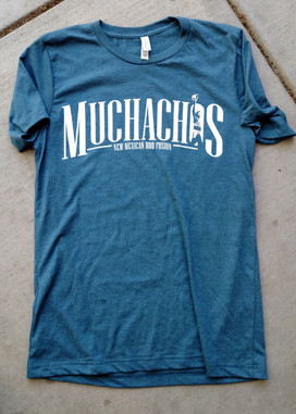 If you haven't hit up my friend Nick's food truck, you haven't lived.  Go to Muchachos.  Eat it.  Eat it all.    Also, get his official shirt right here.    Bella Canvas poly/cotton blend.  Unisex sizing.  Fits a little small, but won't shrink.  Get after it.    A portion of proceeds from sales will go to the Lincoln Food Bank