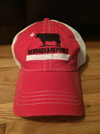 d3dadda8ecf Pacific brand. Unstructured. Snap-back. Mesh. Awesome. Nebraska Republic  Vintage hat