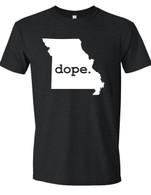 Dope Missouri unisex t-shirt