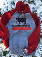 Nebraska Republic Raglan Hoodie