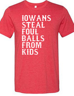 Iowans Steal (youth) (heather red)