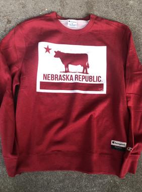 Amazingly freaking soft Champion crewneck sweatshirt.