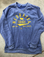 Nebraska Tough Crewneck (blue)