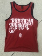 Driveway Drinker bro tank (red)