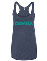 Omaha Retro womens tank