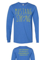 Mustang Strong long sleeve (blue)