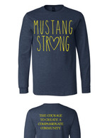 Mustang Strong long sleeve (navy)