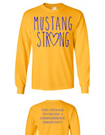 Mustang Strong long sleeve (yellow)