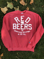 Red Beers Champion Crewneck