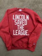 Lincoln Saves Champion Crewneck