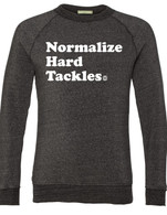 Hard Tackles Alternative crewneck (black)