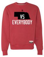 Nebraska vs Everybody Champion crewneck