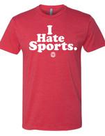 I Hate Sports red