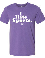I Hate Sports purple
