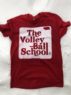 Volleyball School tee (red)