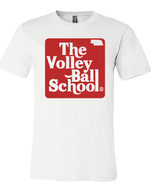 Volleyball School tee (white)