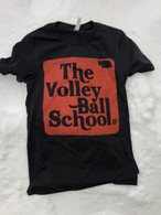 Volleyball School tee (black)