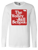 Volleyball School long sleeve (white)