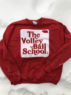 Volleyball crewneck (red)