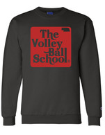 Volleyball crewneck (black)