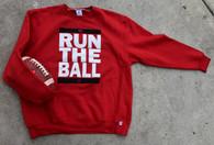 Run The Ball crewneck