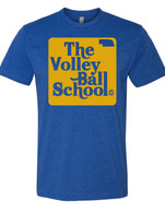 Volleyball School blue