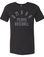 Omaha Means Baseball black