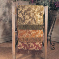 """120"""" Ari Embroidered Tissue Runner with Fringes"""