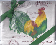 Dish Towel-RoosterSet2