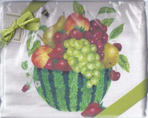 Dish Towel-Fruit Bowl Set 2