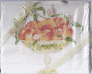 Dish Towel-Peaches Set2