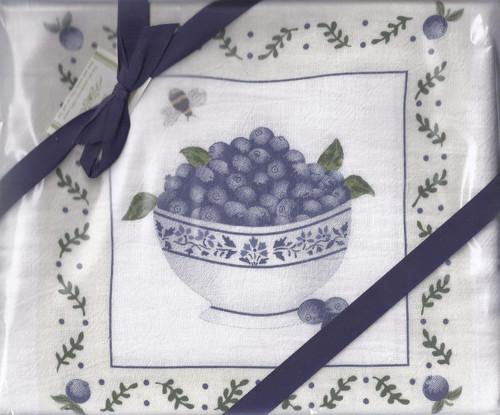 Dish Towels-Blueberries Set2