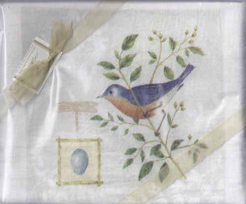Dish Towel- BlueBirdEggSet2
