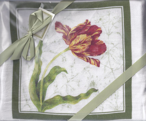 Dish Towel- Tulip Set of 2