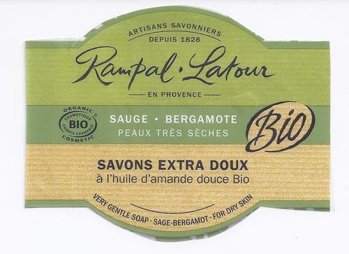 French Soap- Sage & Bergamont- 250 g