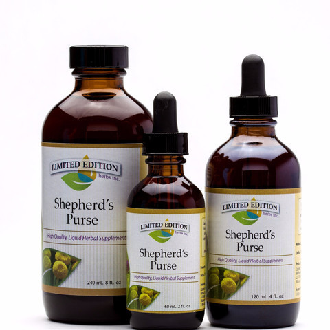 Shepard's Purse 60 ml. 2oz. Tincture
