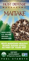 Maitake Mushroom- 60 caps