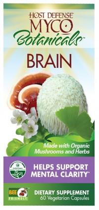 MycoBotanical Brain- 60 caps