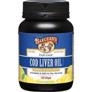 Cod Liver Oil- Soft Gels- Lemon Flavor-100ct