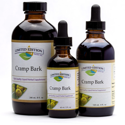Cramp Bark- 2 oz. Tincture